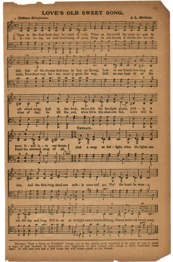 The golden book of favorite songs page 41 music and lyrics m4hsunfo