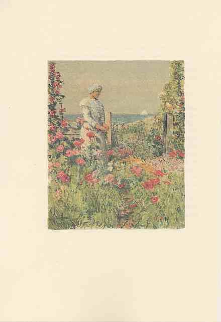 [Frontispiece: In The Garden]
