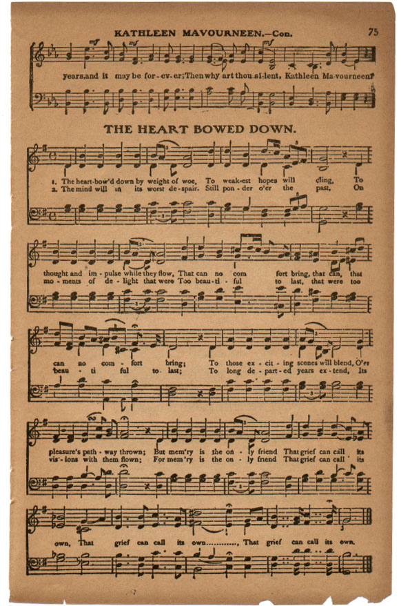 Lyric memories of a broken heart lyrics : The Golden Book of Favorite Songs.