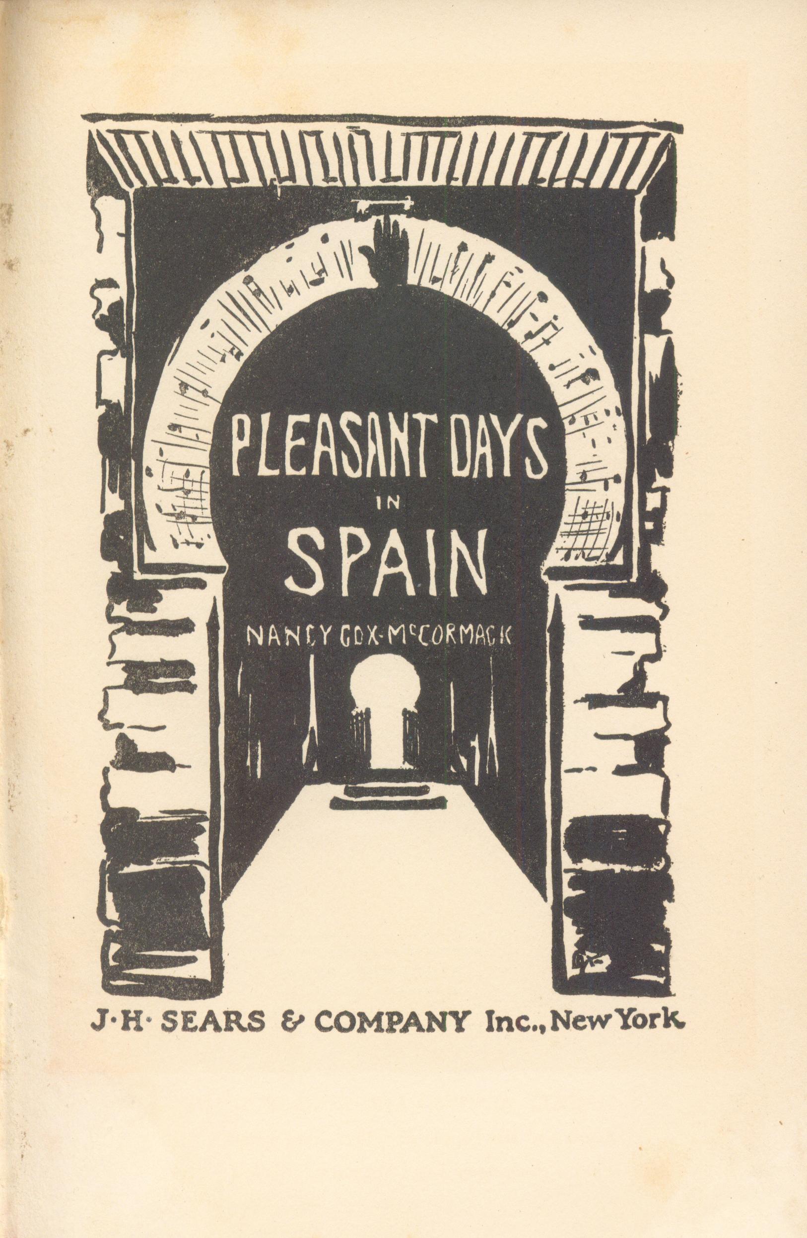 Pleasant Days in Spain