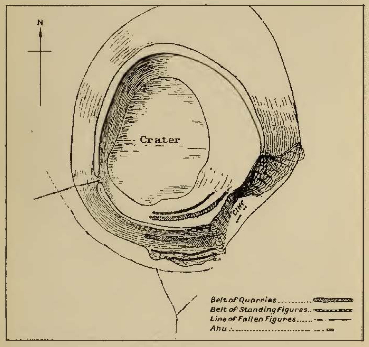 The Mystery Of Easter Island Dome Lamp Wiring Diagram For 1935 36 Fisher Rano Raraku